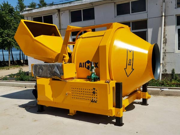 Delivering JZR350 Concrete Drum Mixers to Malaysia