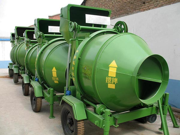 JZC350 Electric Concrete Mixer