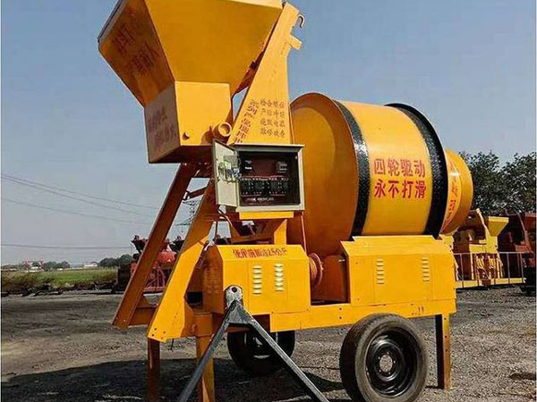 JZM Series Electric Concrete Mixer