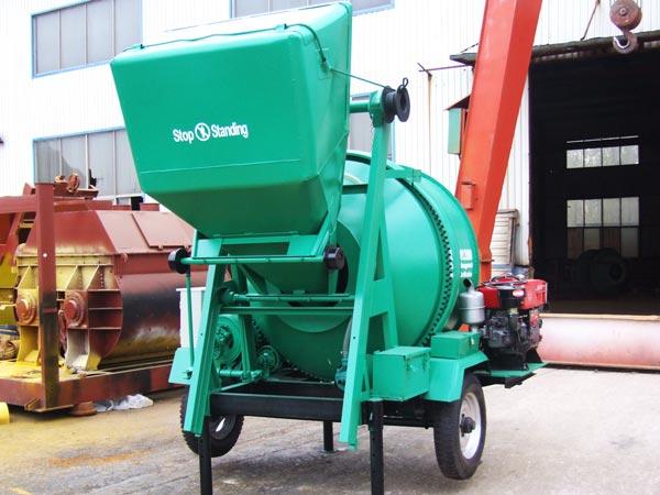 JZR500 Дизельный бетоносмеситель