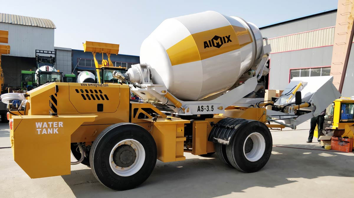 Large Portable Concrete Mixer