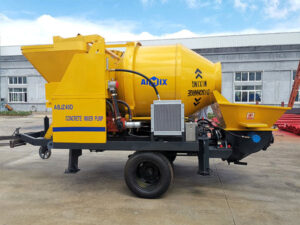 ABJZ40D Electric Concrete Mixing Pump