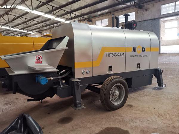 ABT60C Diesel towable concrete pump