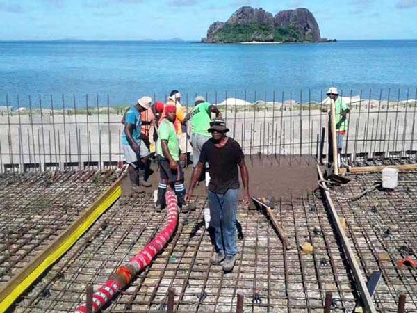 Насос-миксерный смеситель AIMIX на Фиджи