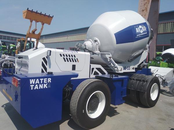AS-3.5 Self Loading Mixer