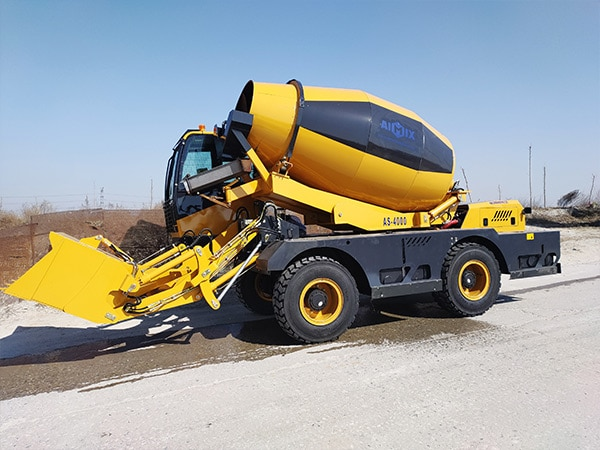 AS-4.0 Diesel Concrete Mixer