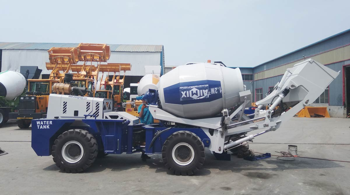AS1.2 Self Loading Mixer Ready to Malaysia