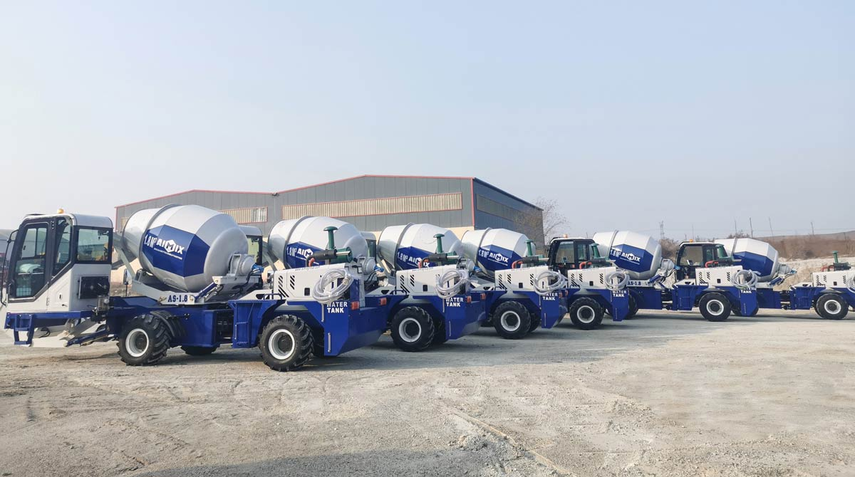 Diesel Self Loading Mixer for Sale