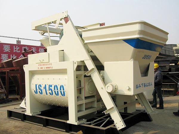 JS1500 Большой бетоносмеситель