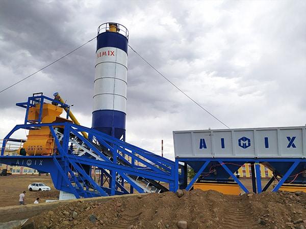 JS750 for AJY35 Concrete Plant