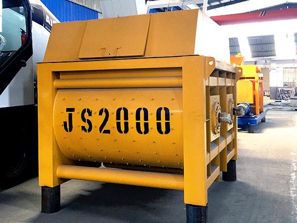 Large Twin Shaft Mixer - JS2000