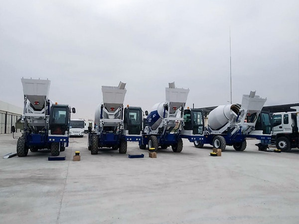 Self Loading Mixers in Uzbekistan
