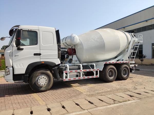 trailer mounted concrete mixer