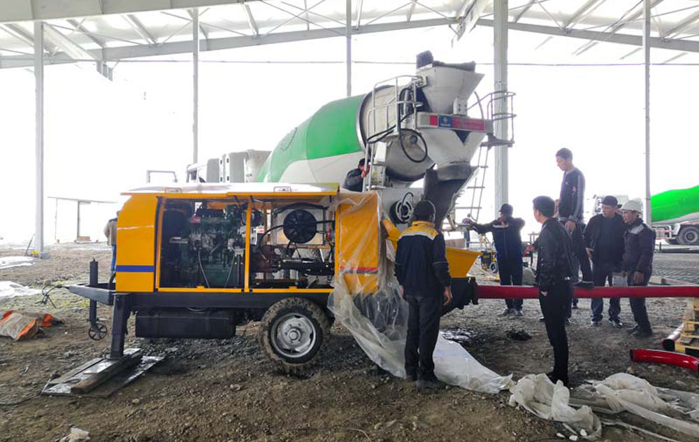 ABT40C Trailer Pump in Uzbekistan
