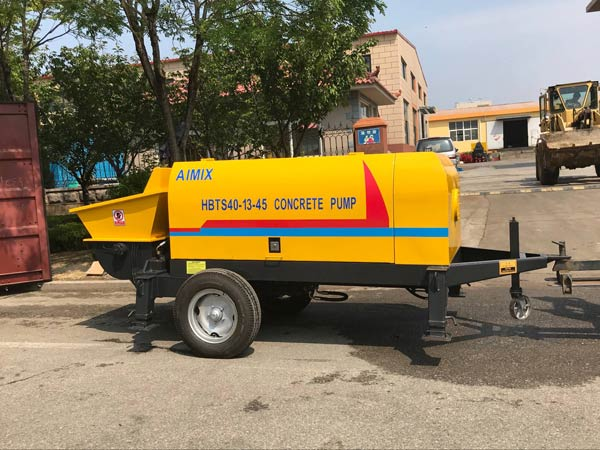 ABT40D Electric Trailer Concrete Pump
