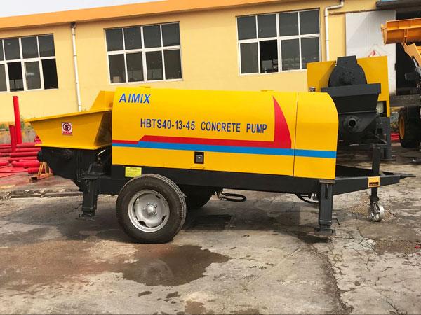ABT40D Электрический небольшой бетонный насос