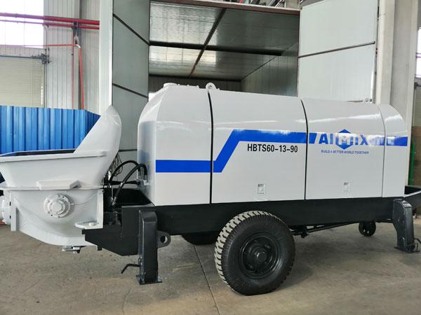 Электрическая бетононасосная машина ABT60
