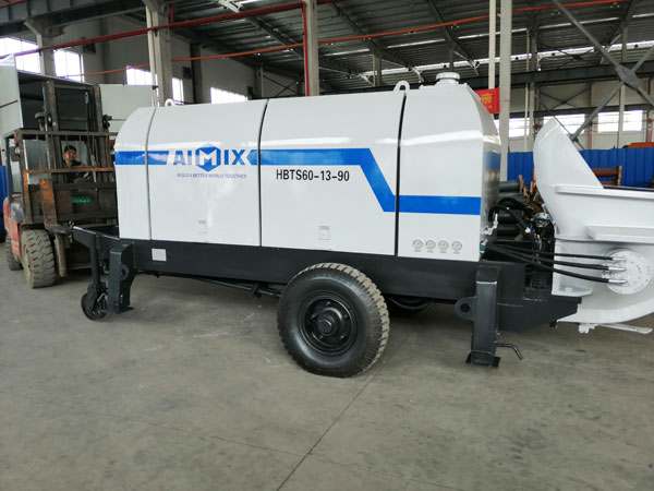 ABT60D Electric Trailer Concrete Pump