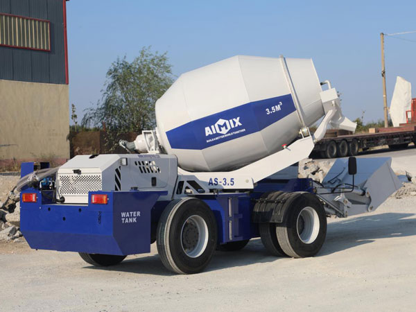 AS-3.5 Self Loading Concrete Mixer with Pump