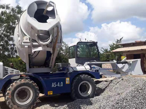 Self Loading Mixer Truck in Tanzania