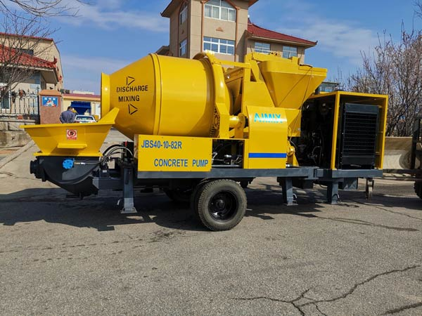 ABJZ40C Concrete Pump Mixer to Jamaica