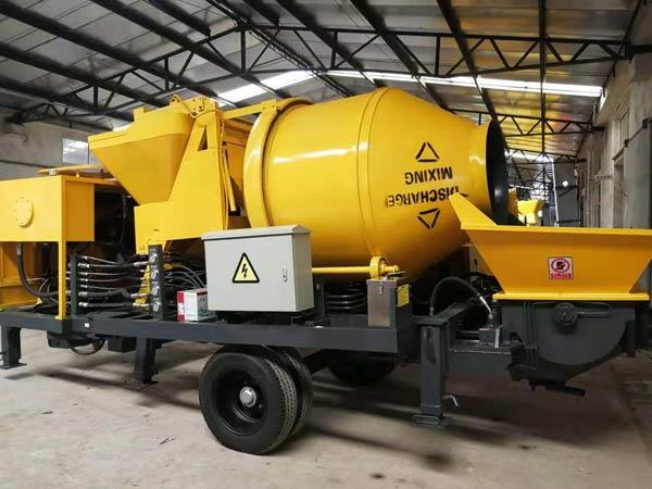 ABJZ40C Diesel Concrete Mix Pump