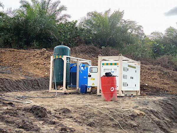 Malayziyada tsement ohak pompasi