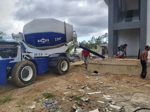 Self Loader Mixer in Indonesia