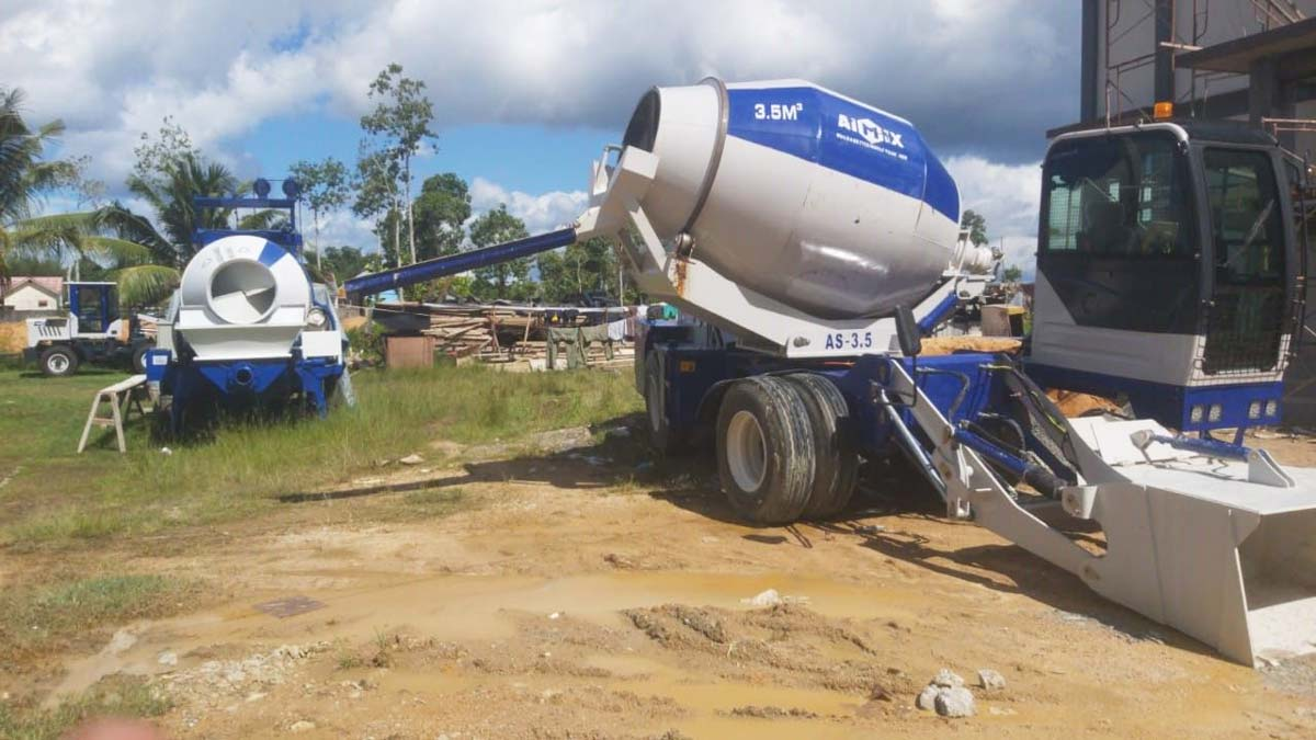 Self Loading Mixer and Mixer Pump in Indonesia