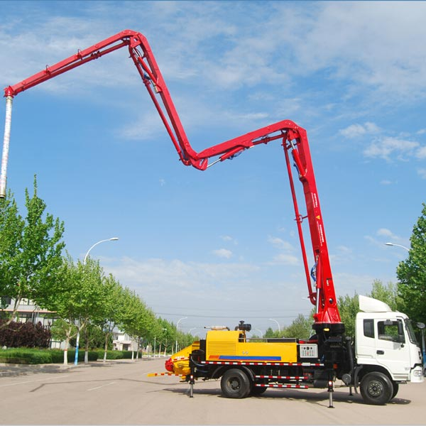 44m concrete boom pump for sale