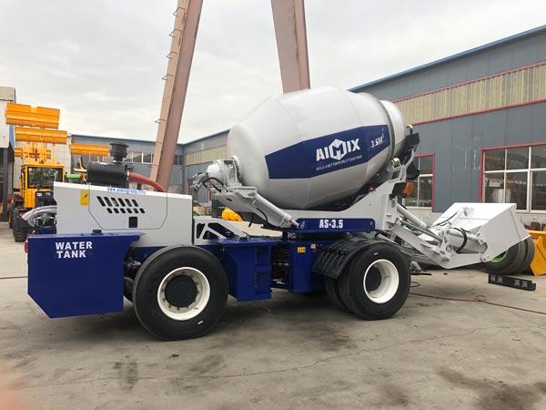 Exporting AS-3.5 self loader mixer to Somalia