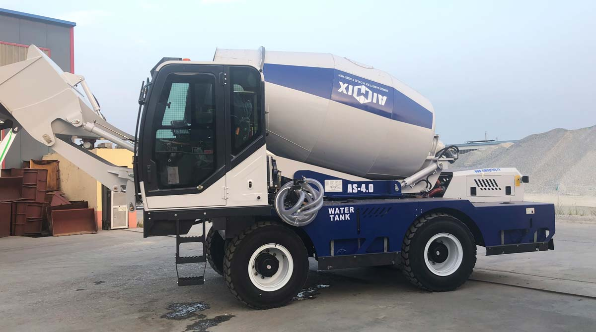 Exporting AS-4.0 Self Loading Concrete Mixer to Russia