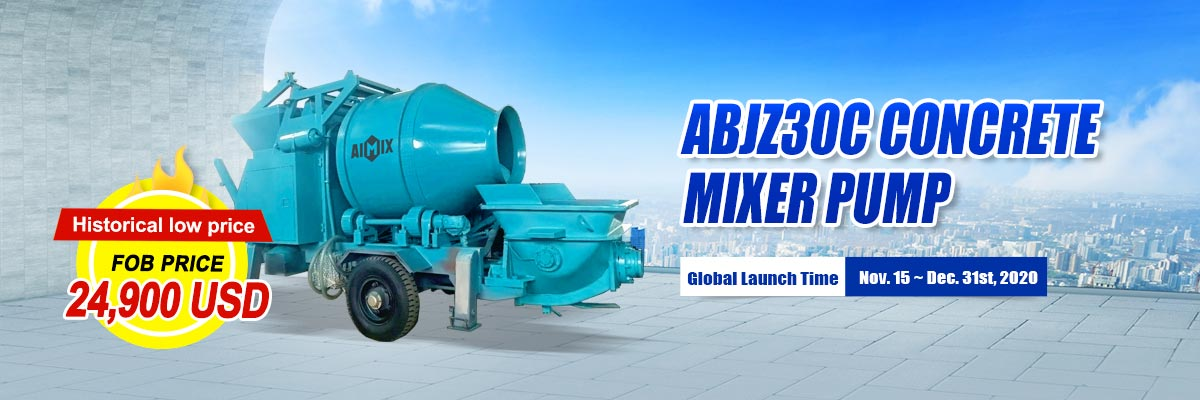 ABJZ30C Small Concrete Pump Sold with Discounts