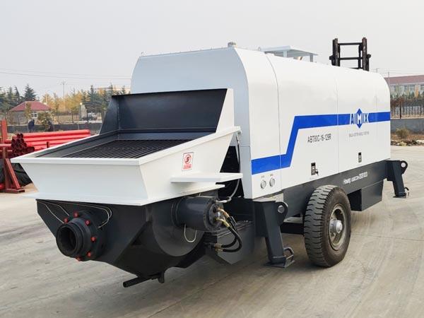 80 m3/h Trailer Mounted Concrete Pump