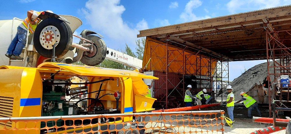 AIMIX ABT60C Concrete Pump In Diego Garcia