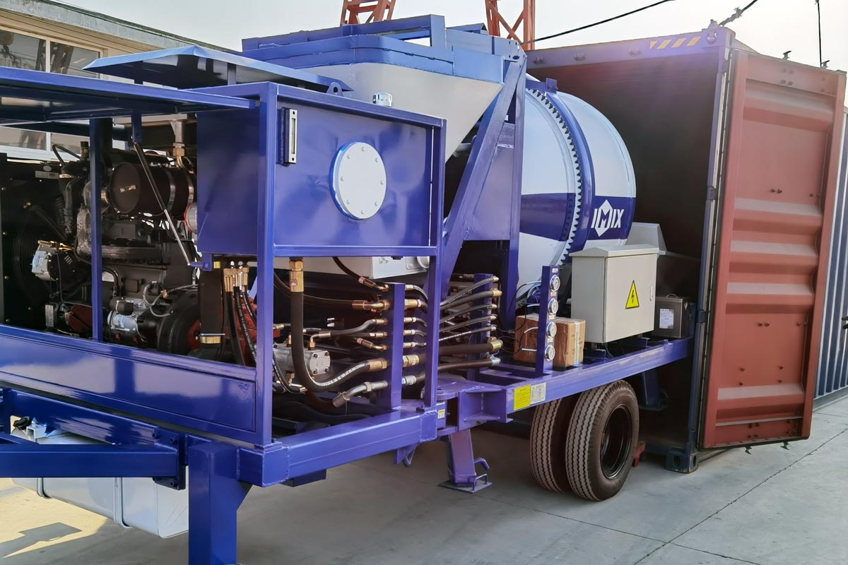 Exporting ABJZ40C Mixer Pump to The Philippines