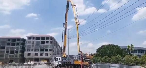 Насосная бетонная смесь