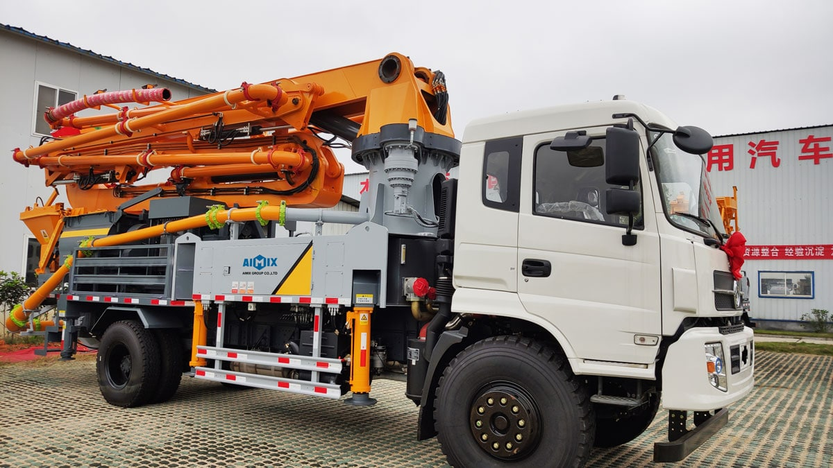 Truck Mounted Boom Concrete Pump
