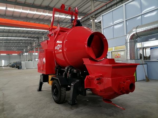 ABJZ30C Diesel Concrete Pump Mixer