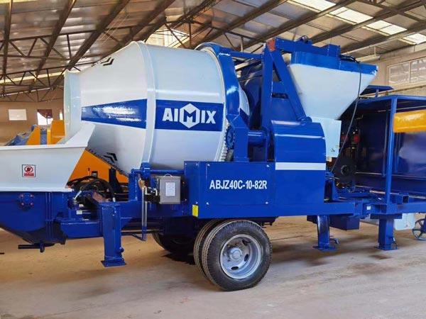 ABJZ40C Mini Diesel Mixer Pump