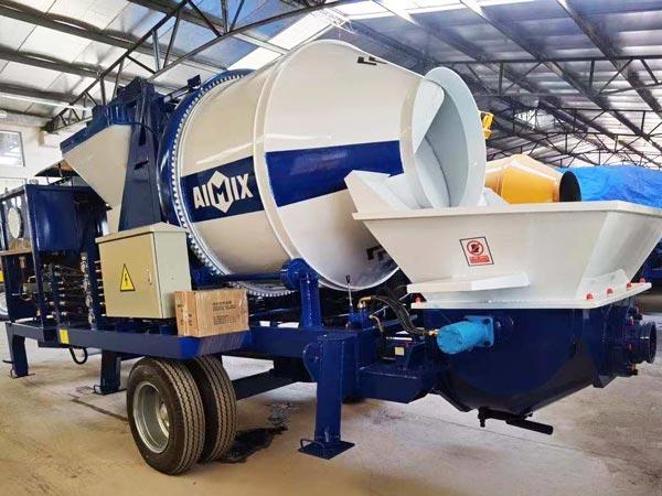 AIMIX ABJZ40C Concrete Pump Mixer