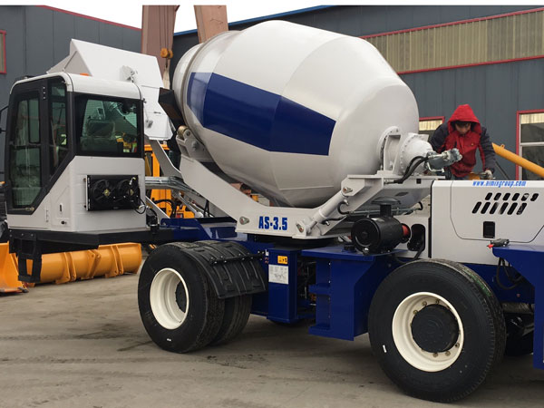 AIMIX AS3.5 Self Loading Mixer Diekspor ke Nigeria
