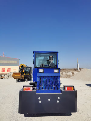 AIMIX Self Loading Pan Mixer for Sale
