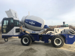AS-2.6 Self Loading Concrete Mixer Delivering to Shymkent, Kazakhstan