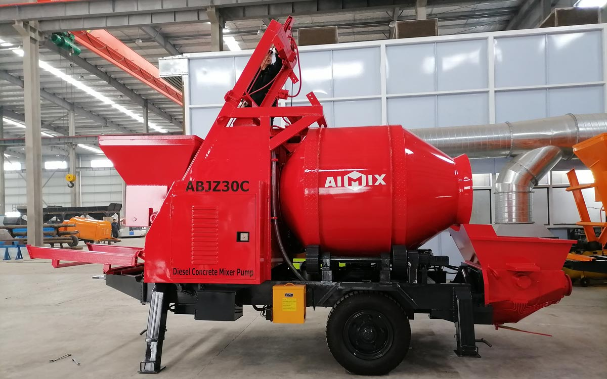 Exporting AIMIX Concrete Mixer and Pump to Malaysia