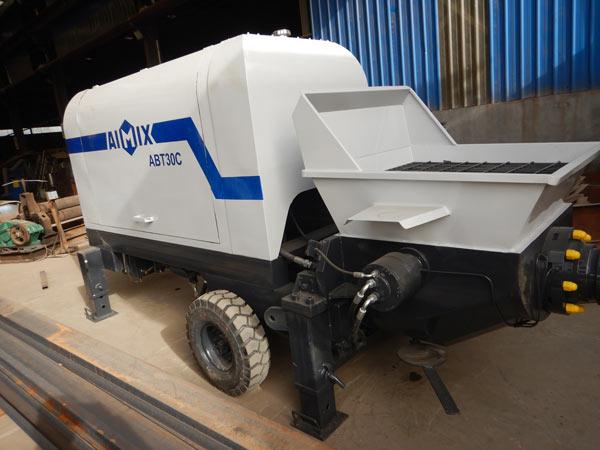 ABT30C Diesel Trailer Pump