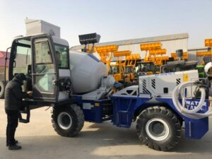 AS-1.2 Self Loading Transit Mixer In Factory