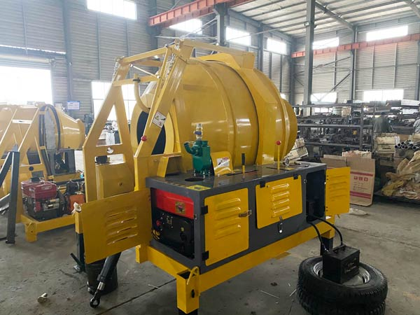 JZR350 Mini Diesel Concrete Mixer