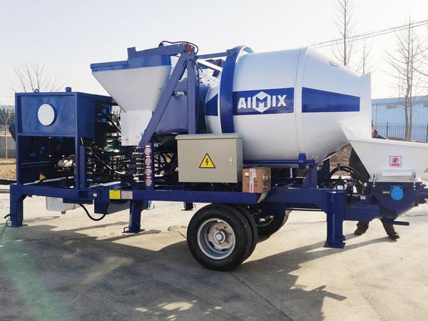 ABJZ30C Diesel Concrete Pump and Mixer