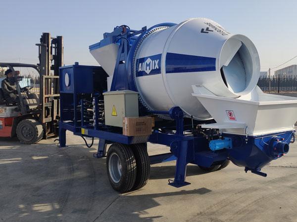 Loading ABJZ30C Mixer Pump